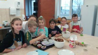 Zajęcia warsztatowe z udziałem dzieci z Korycina